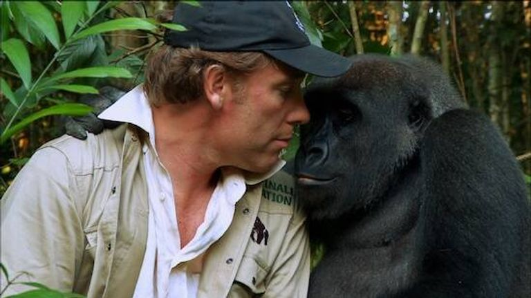 Damian Aspinall and Kwibi face to face