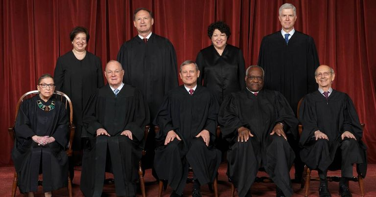 The current Supreme Court Justices of the United States as of July 20, 2018. Supreme Court Justice pbs rewire