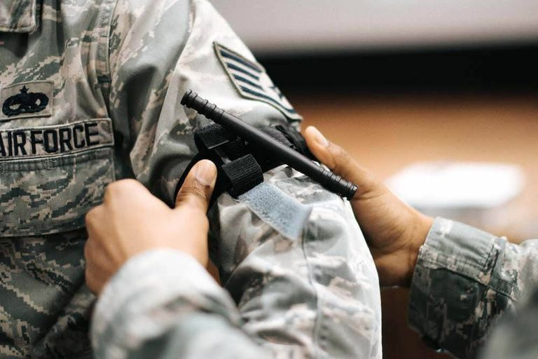 A soldier putting a tourniquet onto another soldier. National Preparedness Month pbs rewire