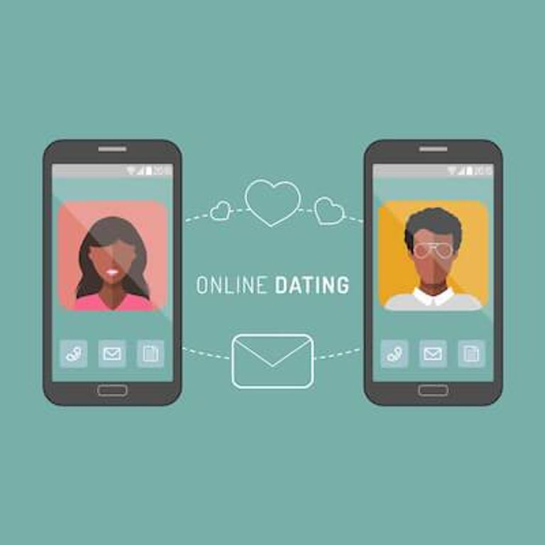 African-American man and woman liking each other's dating profile. Racial Dating Preference pbs rewire