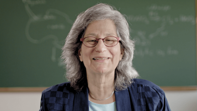 Photo of environmental scientist Susan Solomon. Ozone Hole pbs rewire