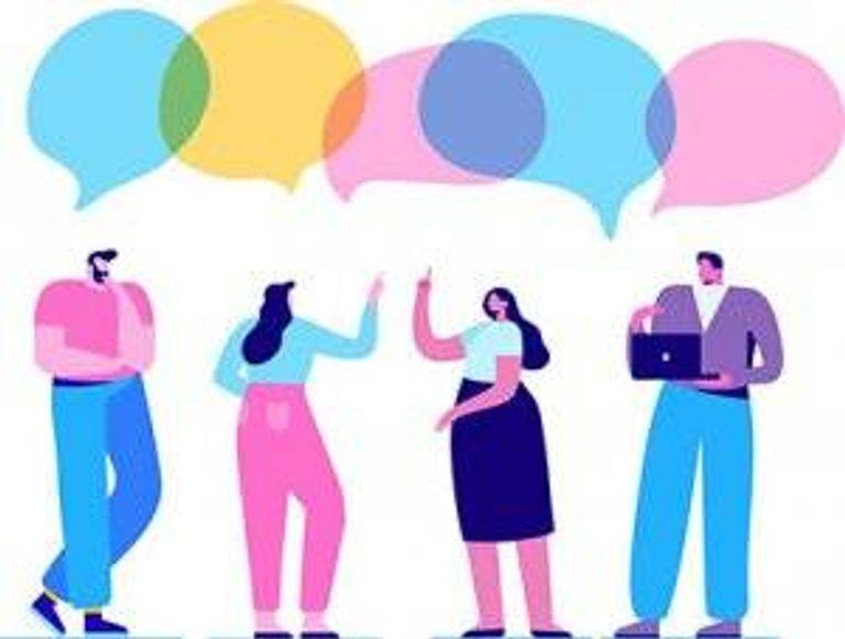 A group conversation. Parents' Politics Rewire PBS Love