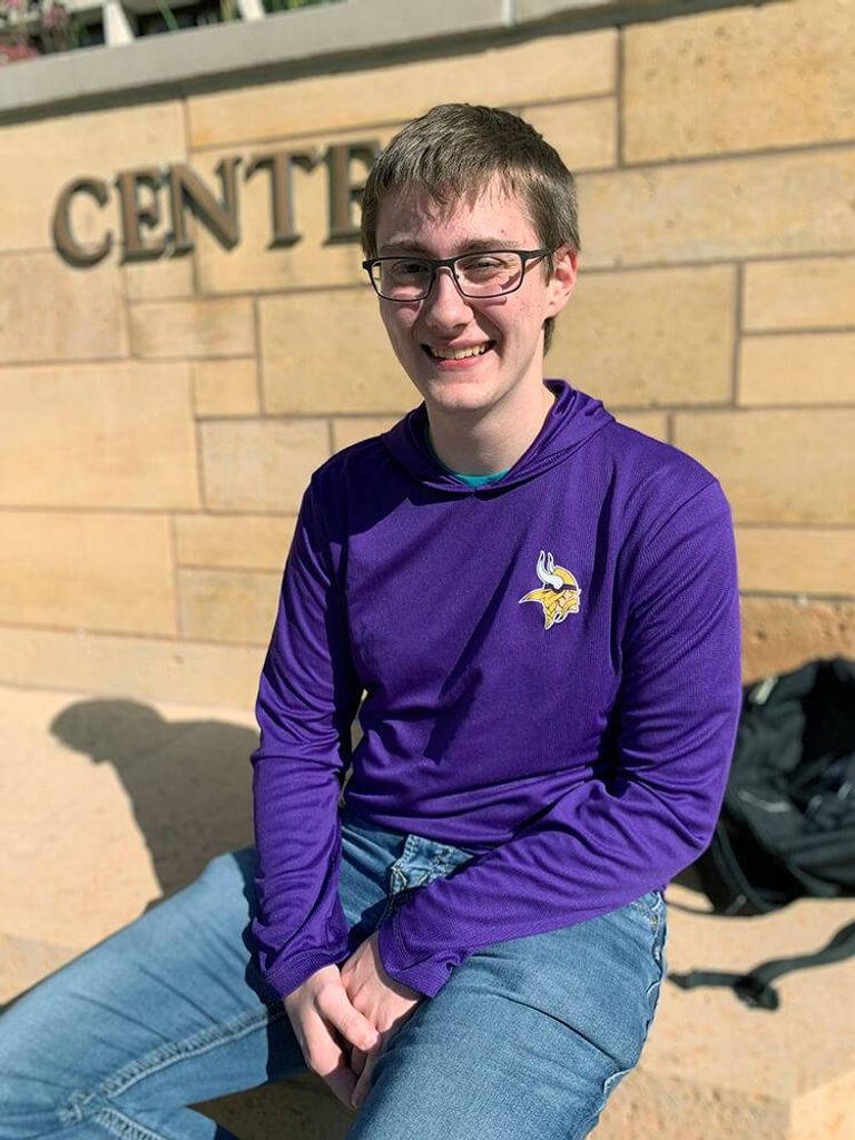 Daniel Fisher, 18, is a college student at the University of St. Thomas. Rewire PBS Our Future Young Voters Issues