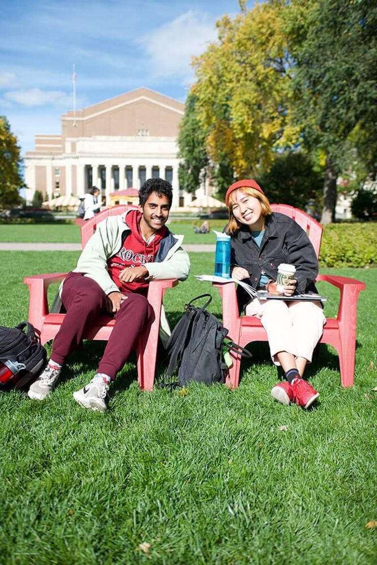 Nikhil Khurana and Minh Tu Van are students at the University of Minnesota. Rewire PBS Our Future young voters Issues