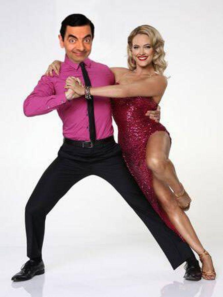 Mr Bean dancing