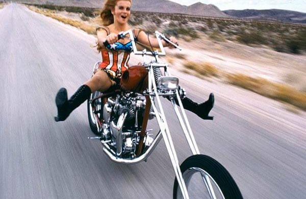 4 Ann Margret on Chopper 1971