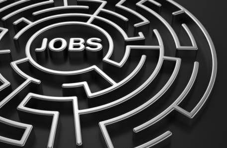 job search maze