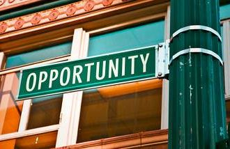 opportunity street sign