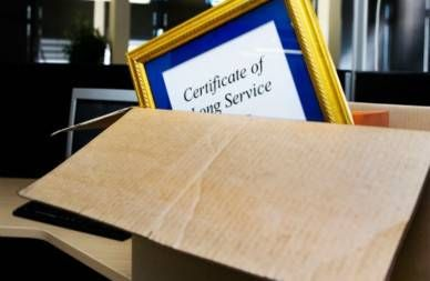 job commendation for service to company in moving box