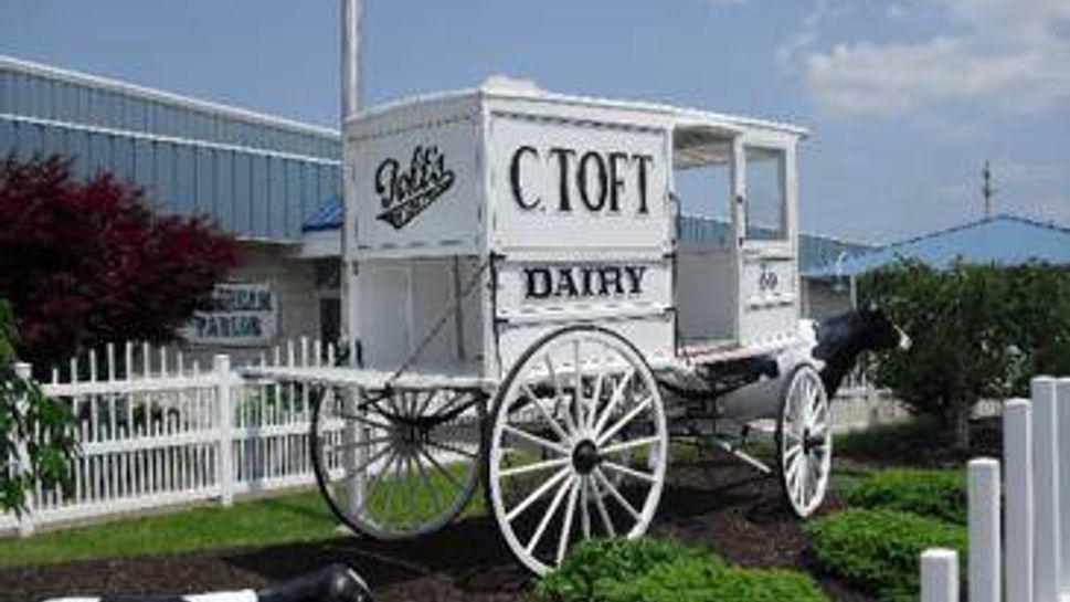 toft's dairy, sandusky, oh