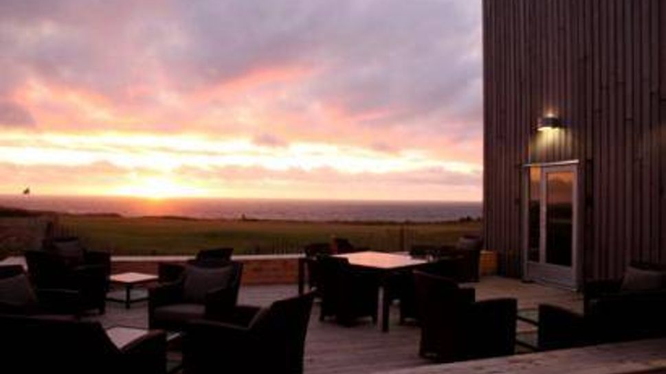 Sunset at Cabot Links