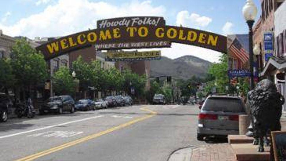 main street of golden colorado