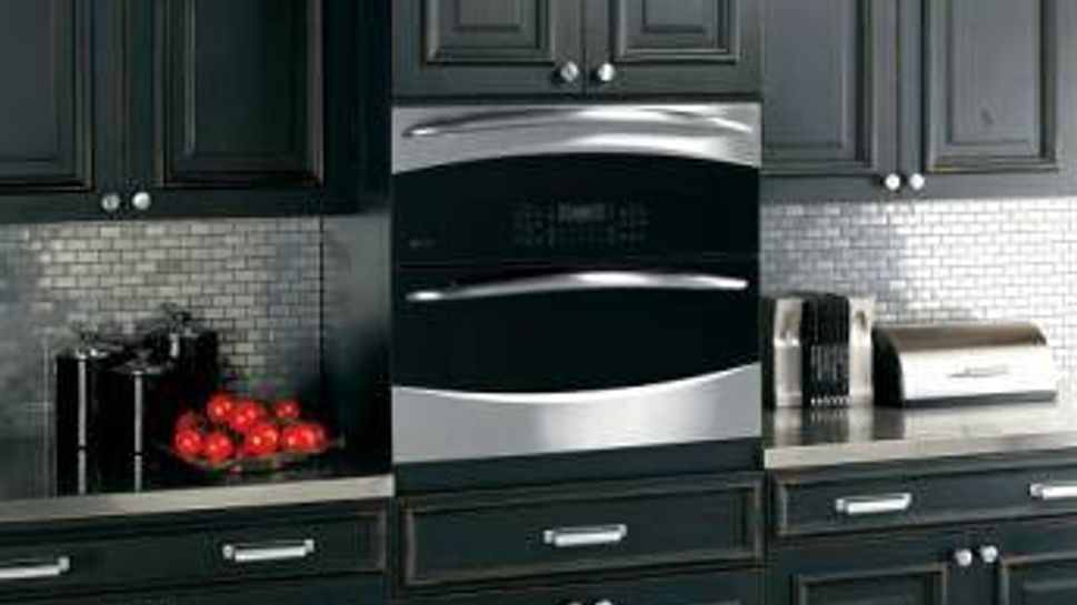This Profile Single/Double Wall Oven can be installed at a comfortable height.