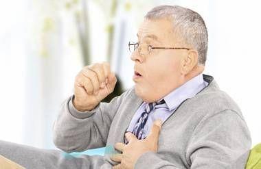 Man choking