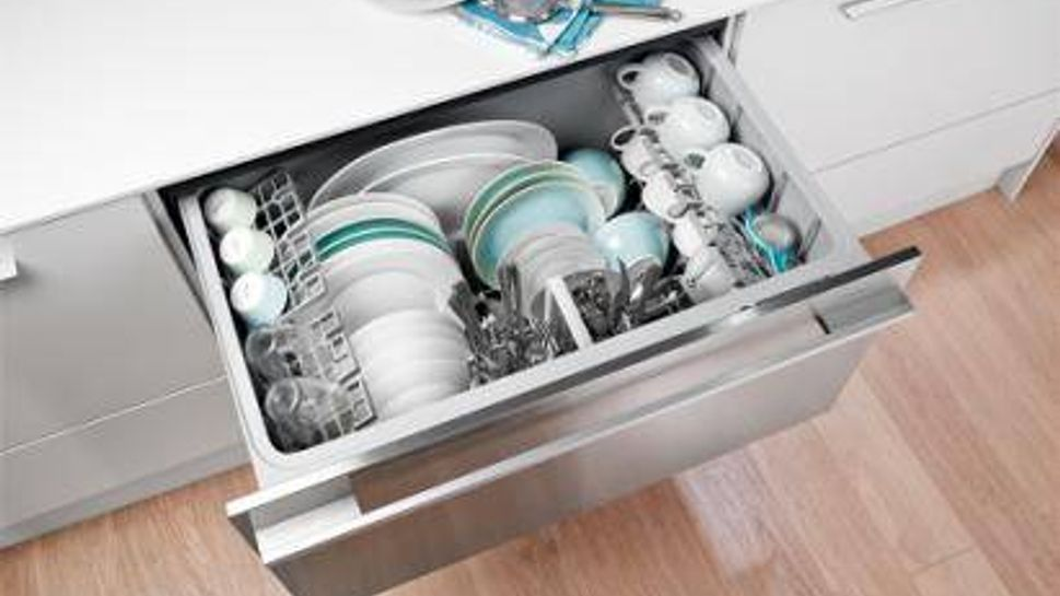 An ergonomic dishwasher to unload more easily.