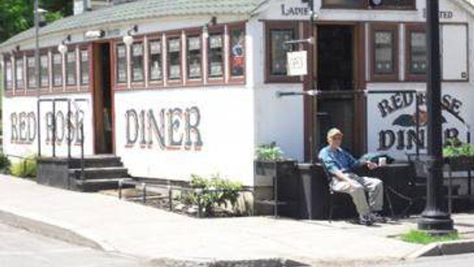 red rose diner, towanda, pa