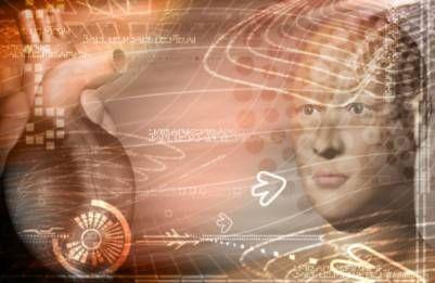 digital rendering of heart and brain