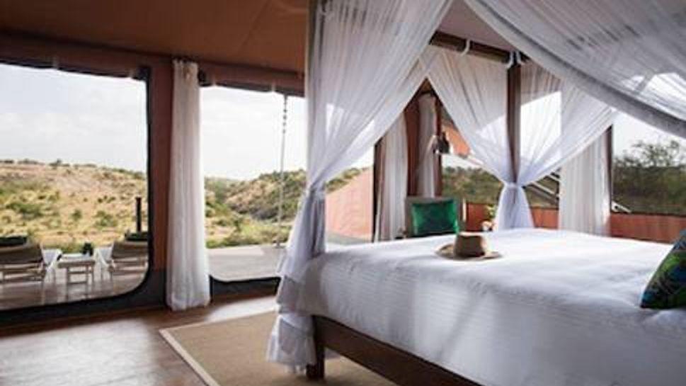 Tented Suite at Mahali Mzuri Safari Camp