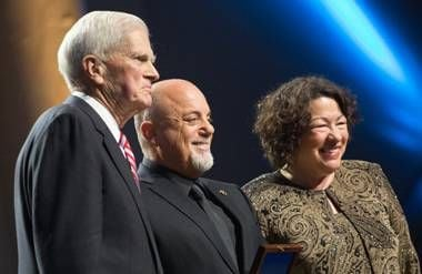 Billy Joel, Dr. James H. Billington, Sonia Sotomayor