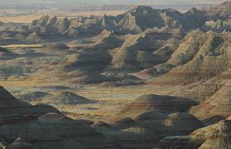 How to connect more intimately when on vacation, at places like the Badlands.