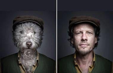 Underdog dogs dressed like ownersby Sebastian Magnani