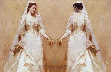 The Wedding Couple, after Abbot Handerson Thayer and Richard E. Miller