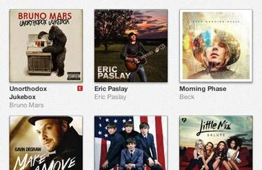 iTunes digital music