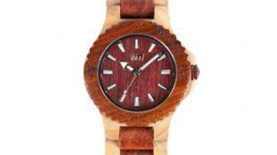 Eco-friendly WeWood Watches, from all-natural, chemical-free scrap materials