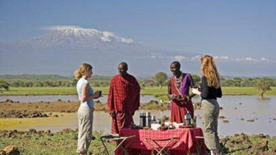 Learn Maasai at the Kenya Maasai Conservation Community Safari.