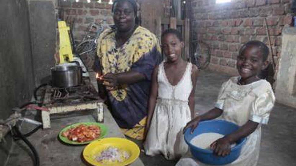 Heifer International helps build homes in countries like Uganda
