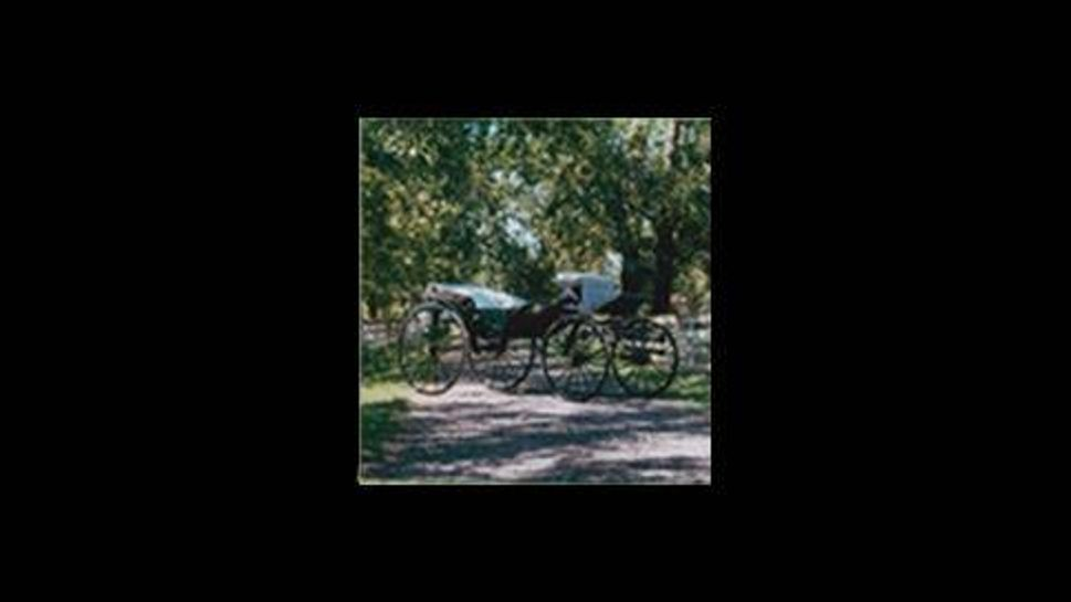 barouche civil war carriage owned by president abraham lincoln
