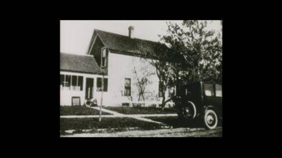 the judy garland historic house in 1925