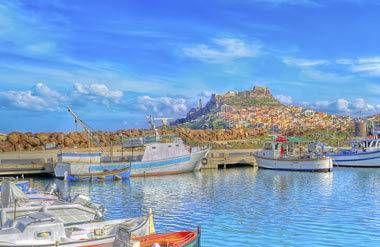 Castelsardo harbor
