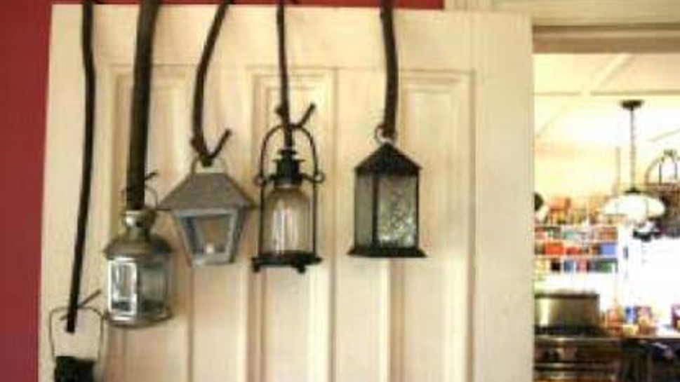 Decorate with lanterns.