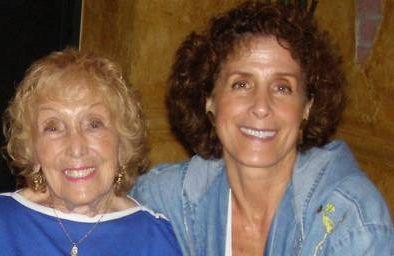 Pamela Zitron with her mother