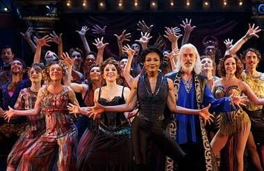 "The company of ""Pippin,"" 2013."
