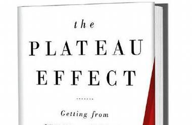 """The co-author of """"The Plateau Effect"""" says perfectionism can backfire on you."""