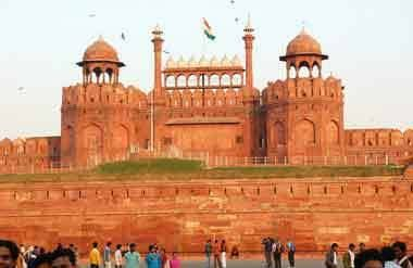Red Fort World Heritage Site in Delhi, India