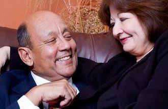 older latino couple