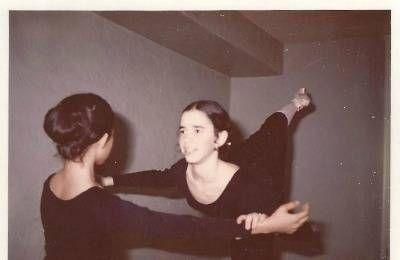 Julie Shifman as a young ballerina