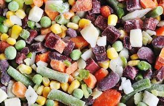 Frozen fruits and vegetables are nutritious and less expensive than fresh ones