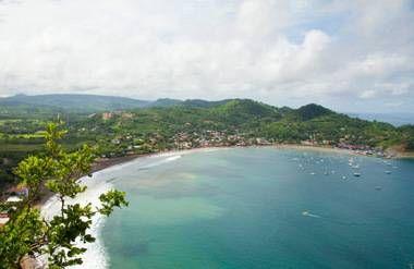 San Juan del sur beach Nicaragua