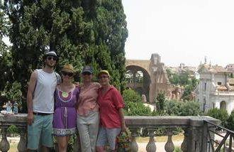 wray family in italy