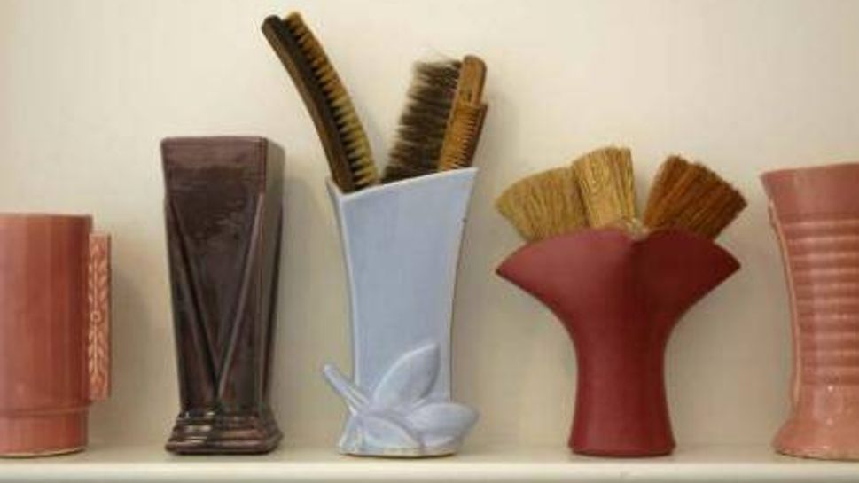 Collectible artisan vases.