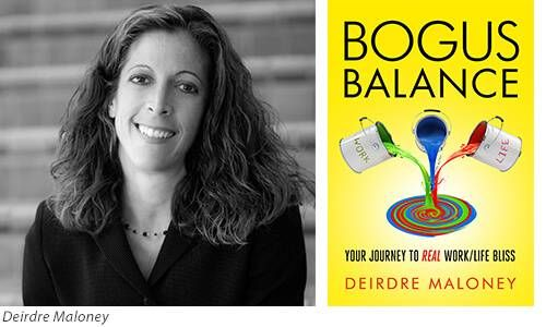 Deirdre Maloney and Book