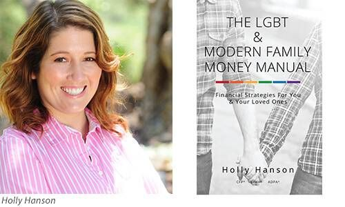 Holly Hanson Author and LGBT Money Book Embed