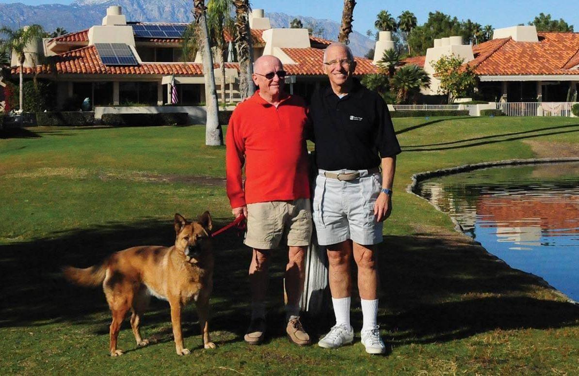 Steve Schullo and Dan Robertson