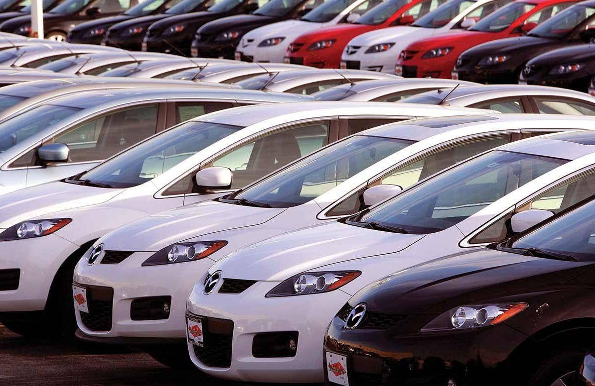 Mazda vehicles Mazda dealership lot