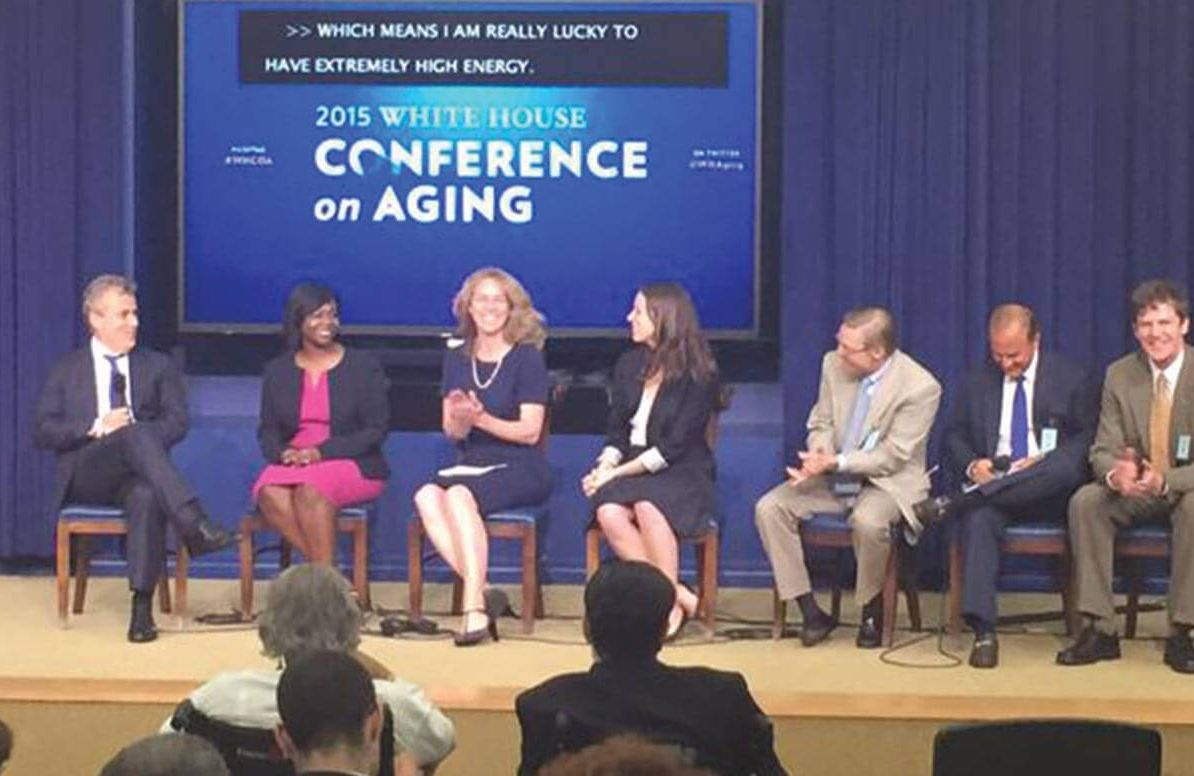 White House Conference on Aging conference panel