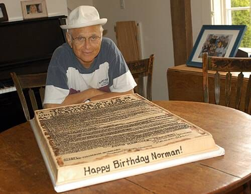 Norman Lear on his birthday